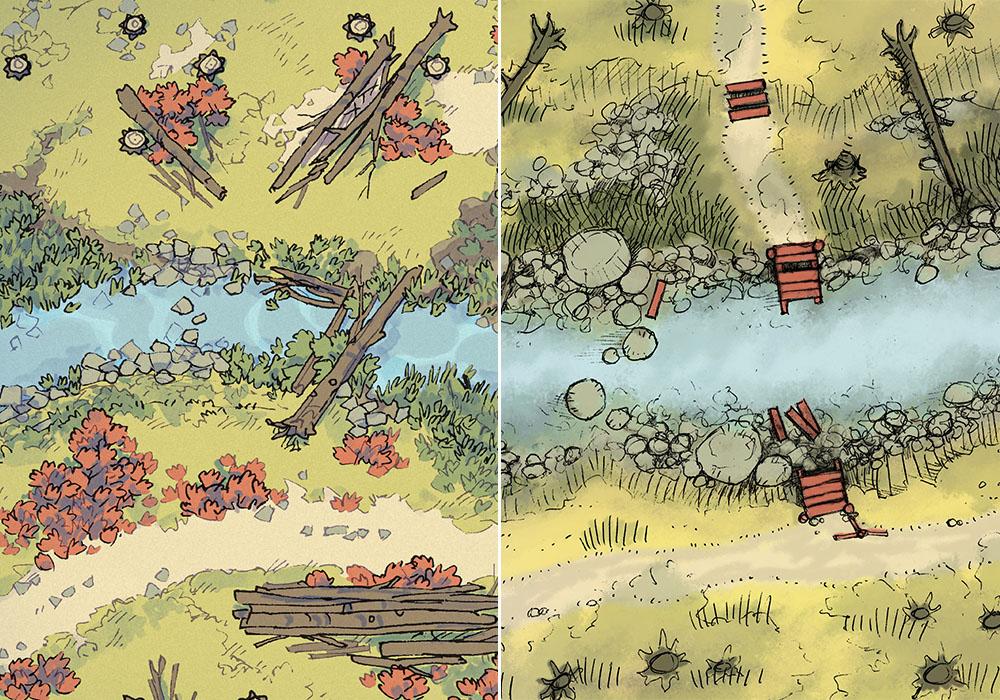 Timber Brook - Autumn Stream comparison 1