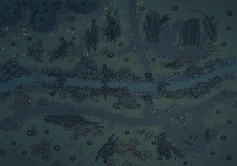 Timber Brook - Muted - Night