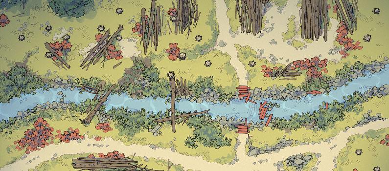 Timber Brook battle map - Banner - Small