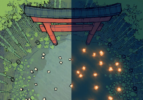 Bamboo Glade battle map - Main preview