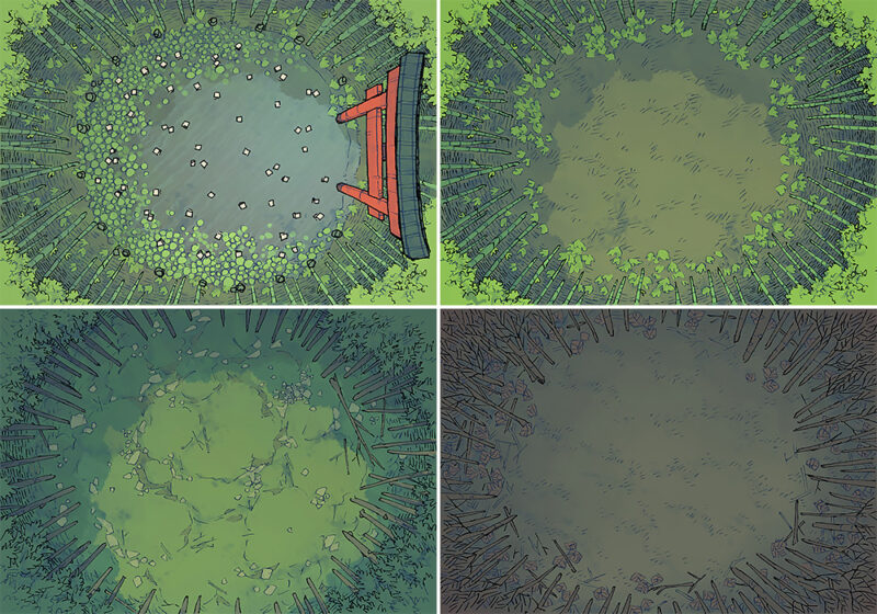 Bamboo Glade battle map - Variants preview copy